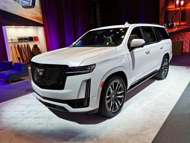 2021 Cadillac Escalade Launch Los Angeles