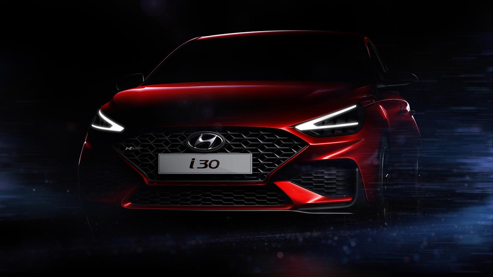 2021 hyundai elantra gt facelift teased motor illustrated