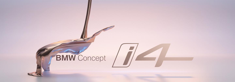 BMW Concept i4 teaser Geneva Motor Show 2020