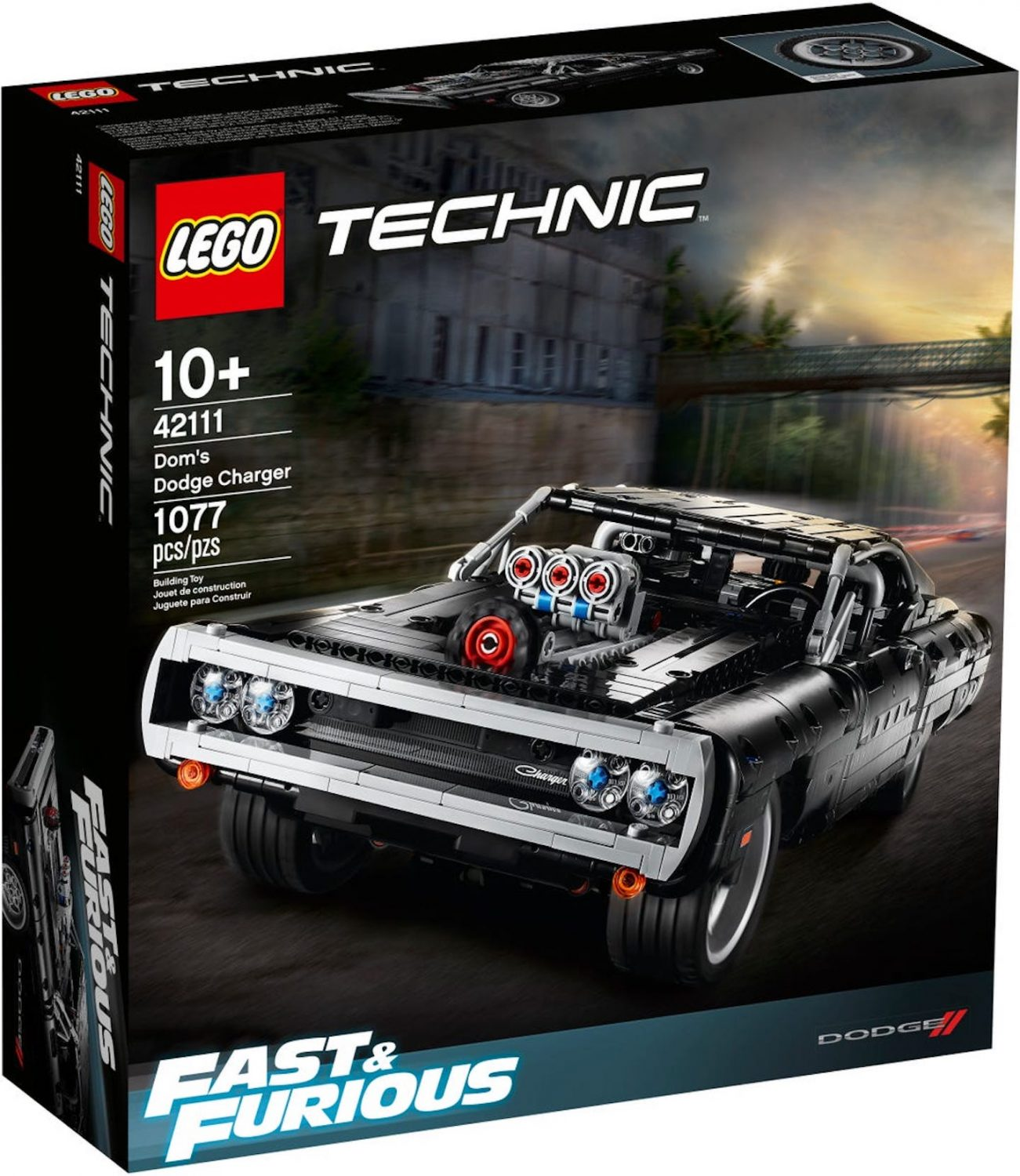 LEGO Technic Introduces Dom's Dodge Charger From Fast