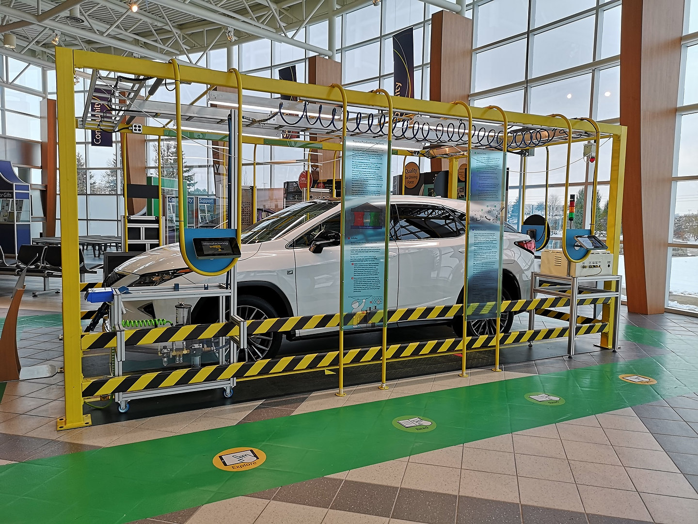 Toyota Motor Manufacturing Canada Media Tour 2019