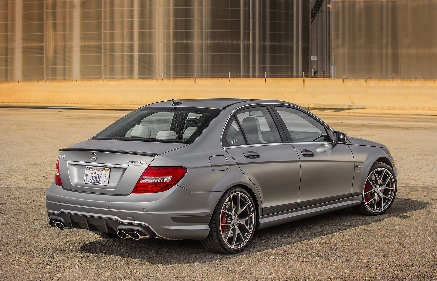 19-Year Old Driving A Mercedes-AMG C 63 Clocked At 308 km ...