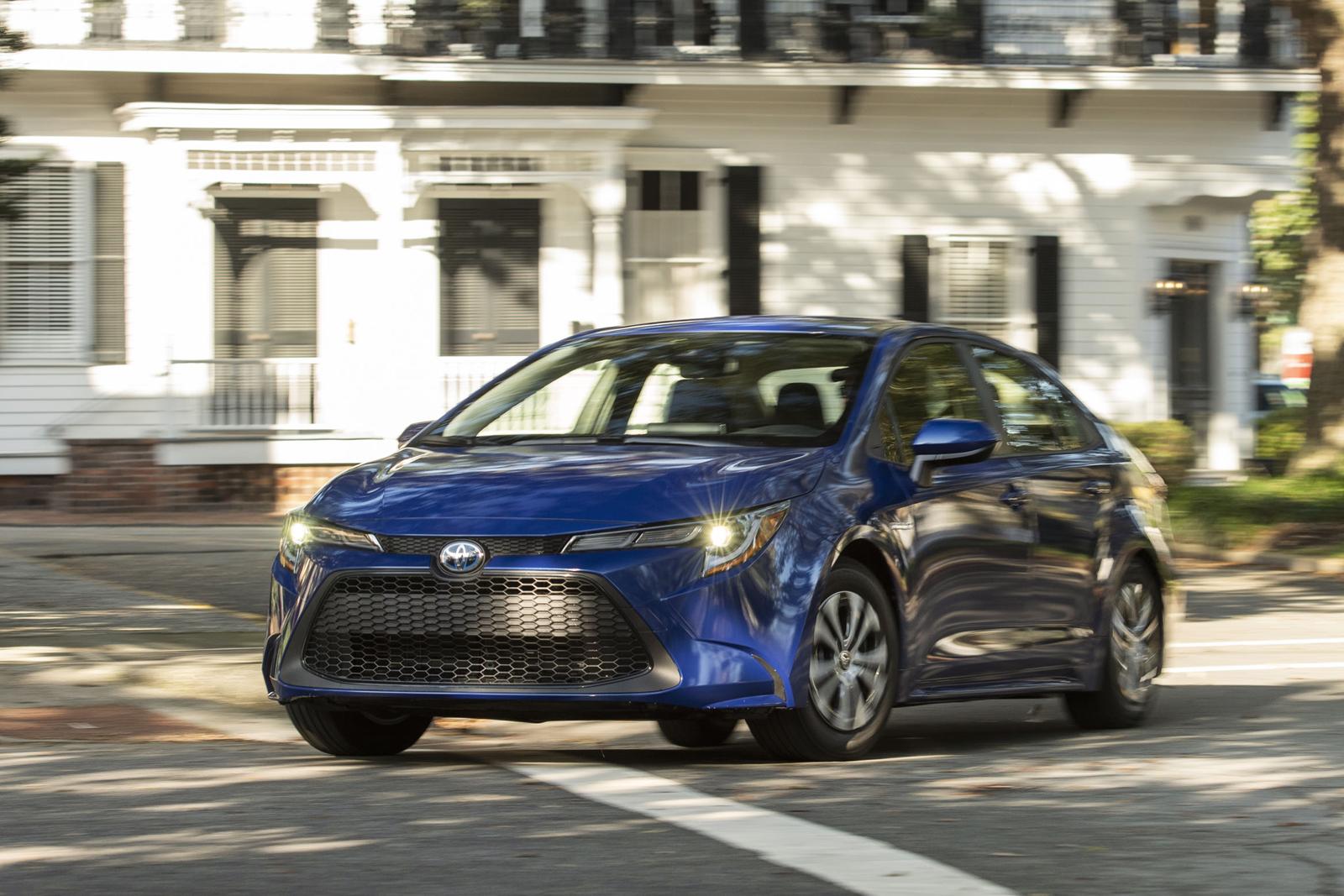 2021 toyota corolla hybrid now on sale in canada  motor