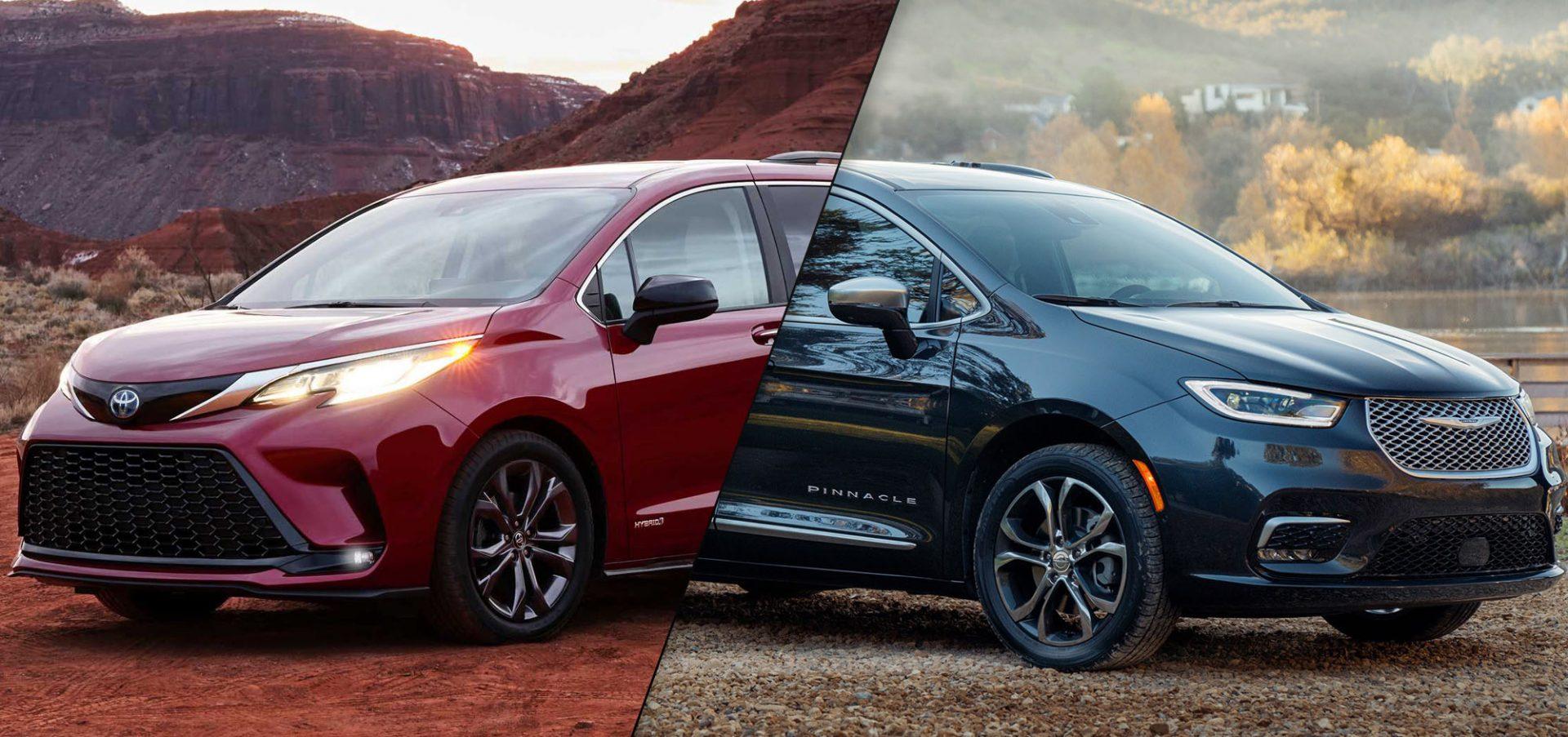 2021 Toyota Sienna vs 2021 Chrysler Pacifica