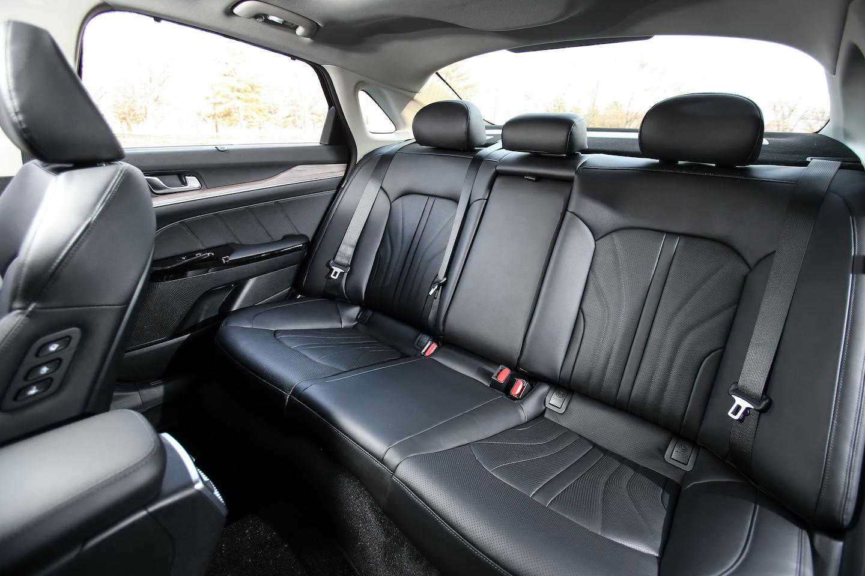 2021 Kia K5 rear seats