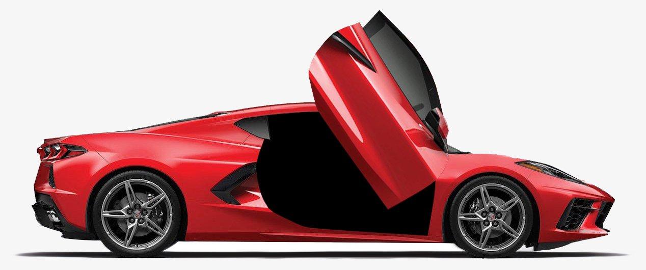 Chevy Corvette Lambo Doors