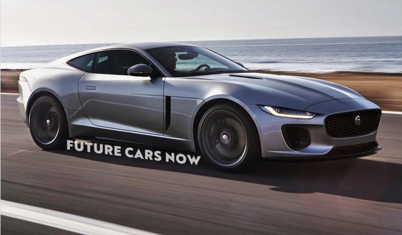 Jaguar XK rendering