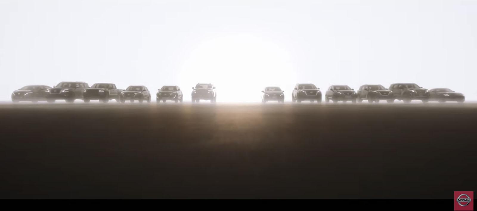 Nissan New vehicle teased