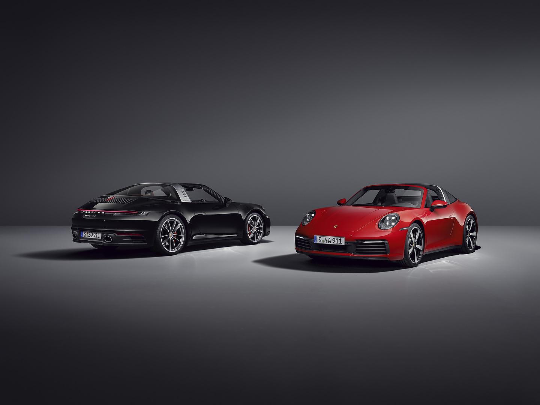 New Porsche 911 Targa 4S 992