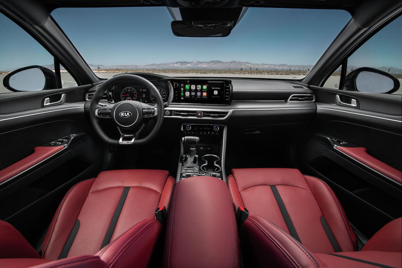 2021 Kia K5 interior