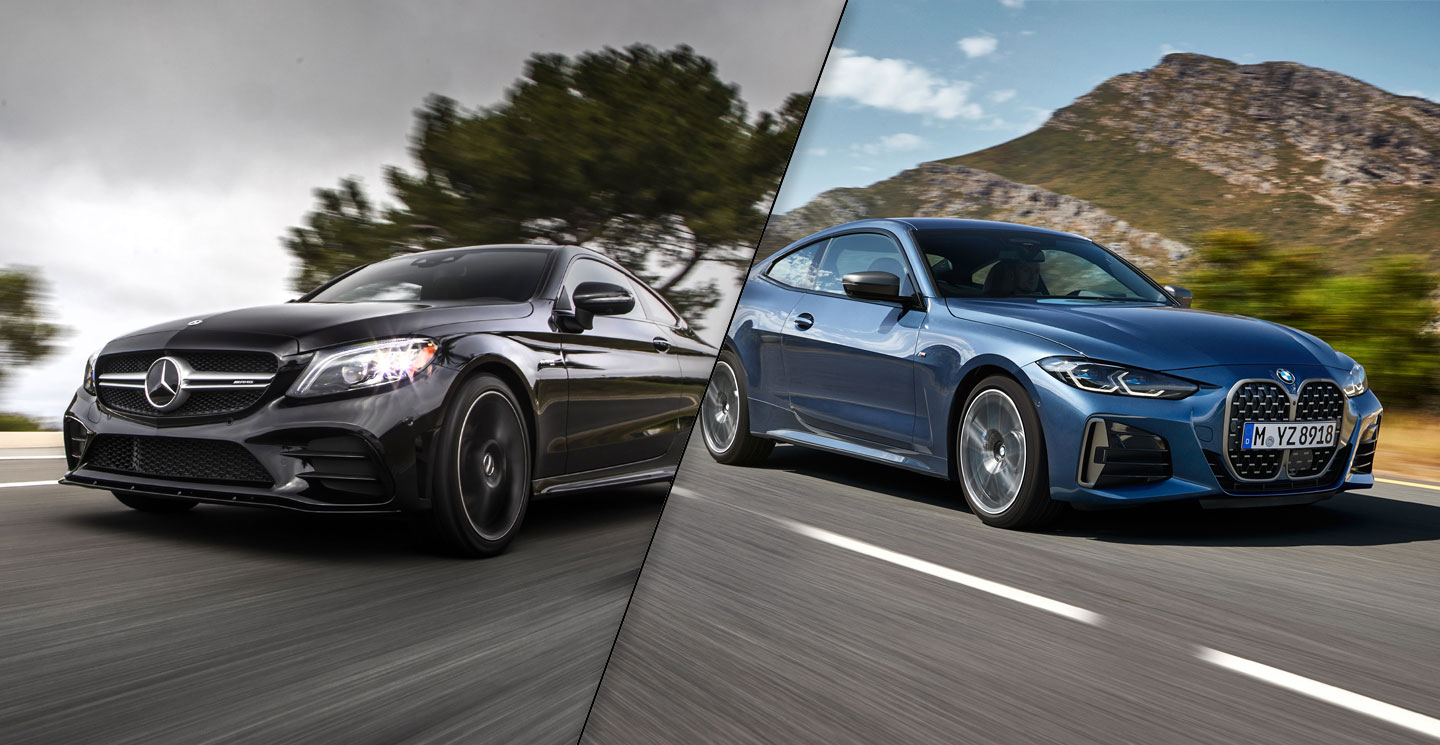 2021 BMW 4 Series vs 2020 Mercedes-Benz C-Class Coupe