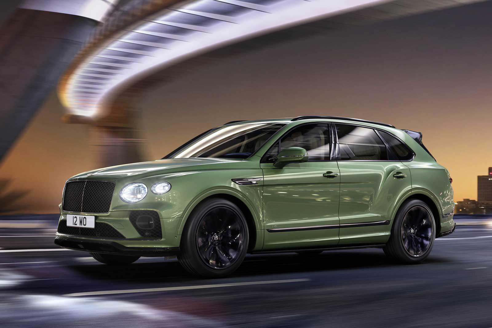 2021 Bentley Bentayga Gets Refreshed Design New Tech Motor Illustrated
