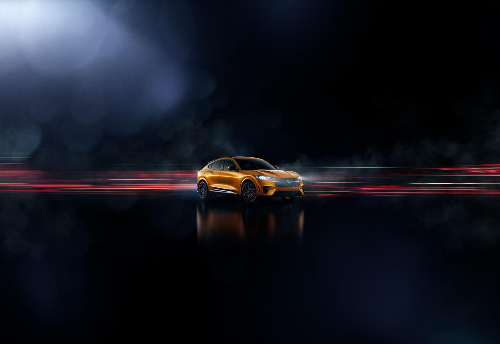 Ford Mustang Mach-E Cyber Orange