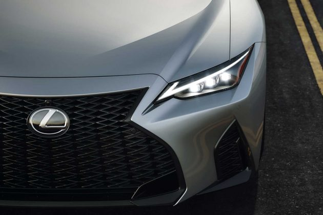 2021 lexus is redesigned with new looks and handling