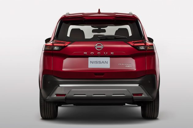 2021 Nissan Rogue rear