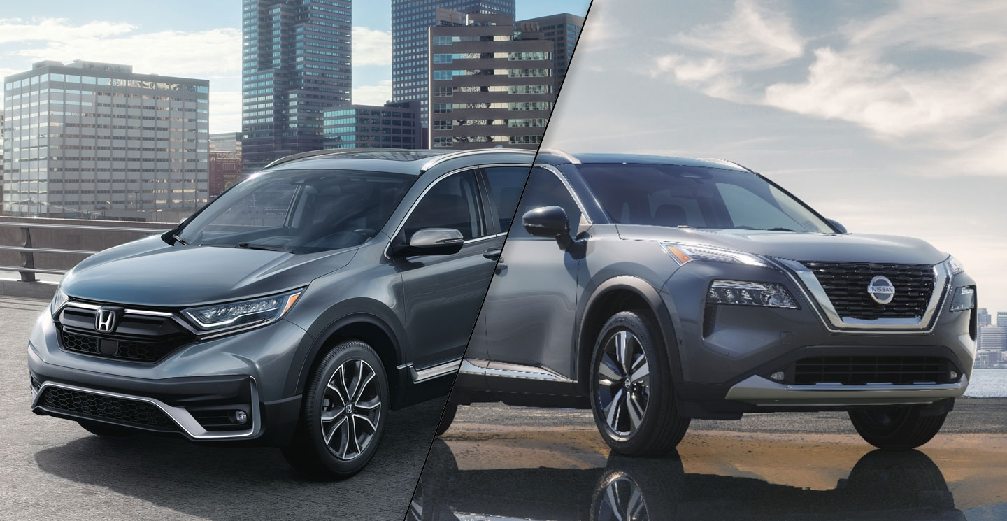 2021 Nissan Rogue Vs 2020 Honda Cr V Spec Comparison Motor Illustrated