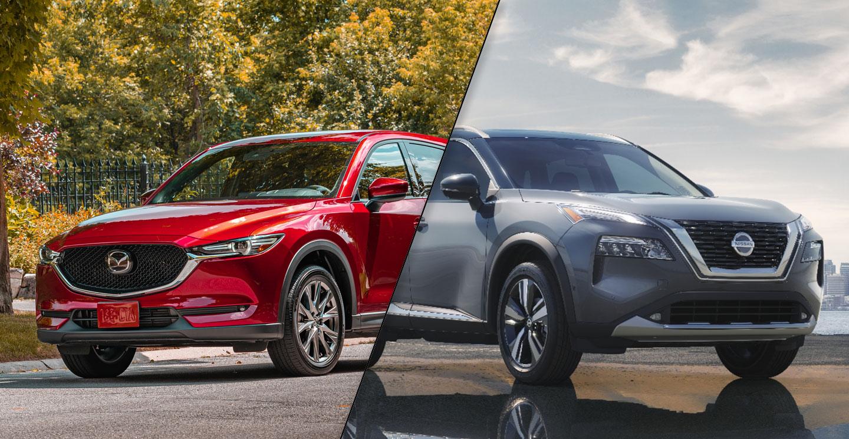 2021 Nissan Rogue vs 2020 Mazda CX-5
