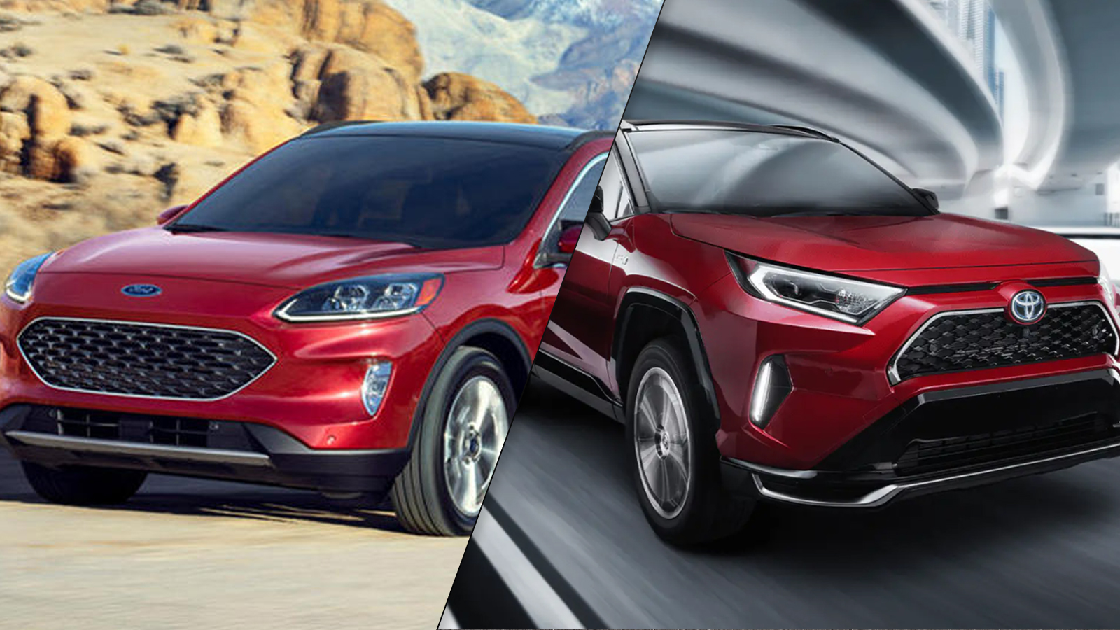 2021 Toyota RAV4 Prime vs 2020 Ford Escape PHEV