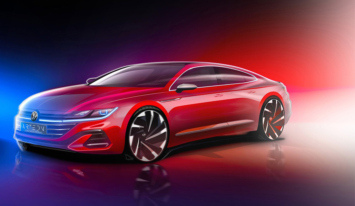 2021 Volkswagen Arteon teaser