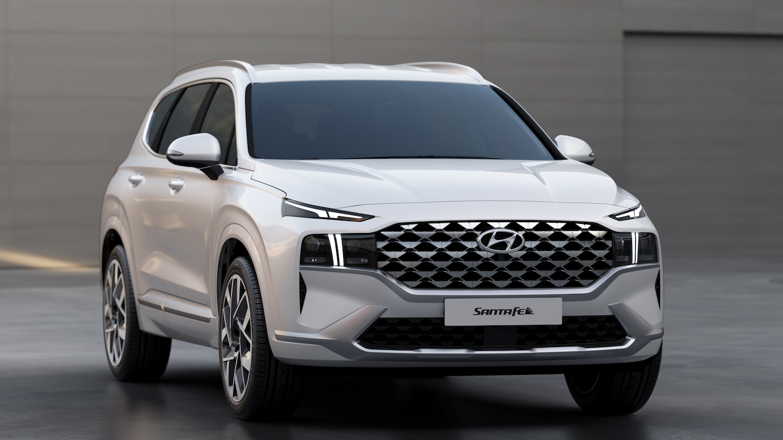 Electric Car Comparison >> Newly Redesigned 2021 Hyundai Santa Fe Breaks Cover ...