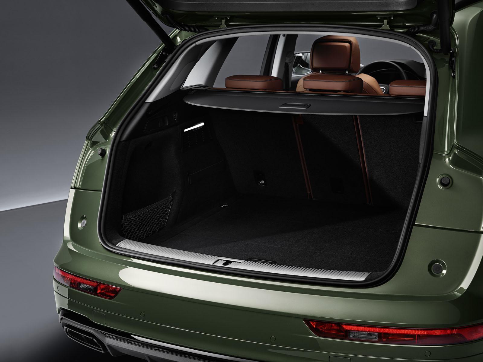 2021 Audi Q5 Luggage compartment
