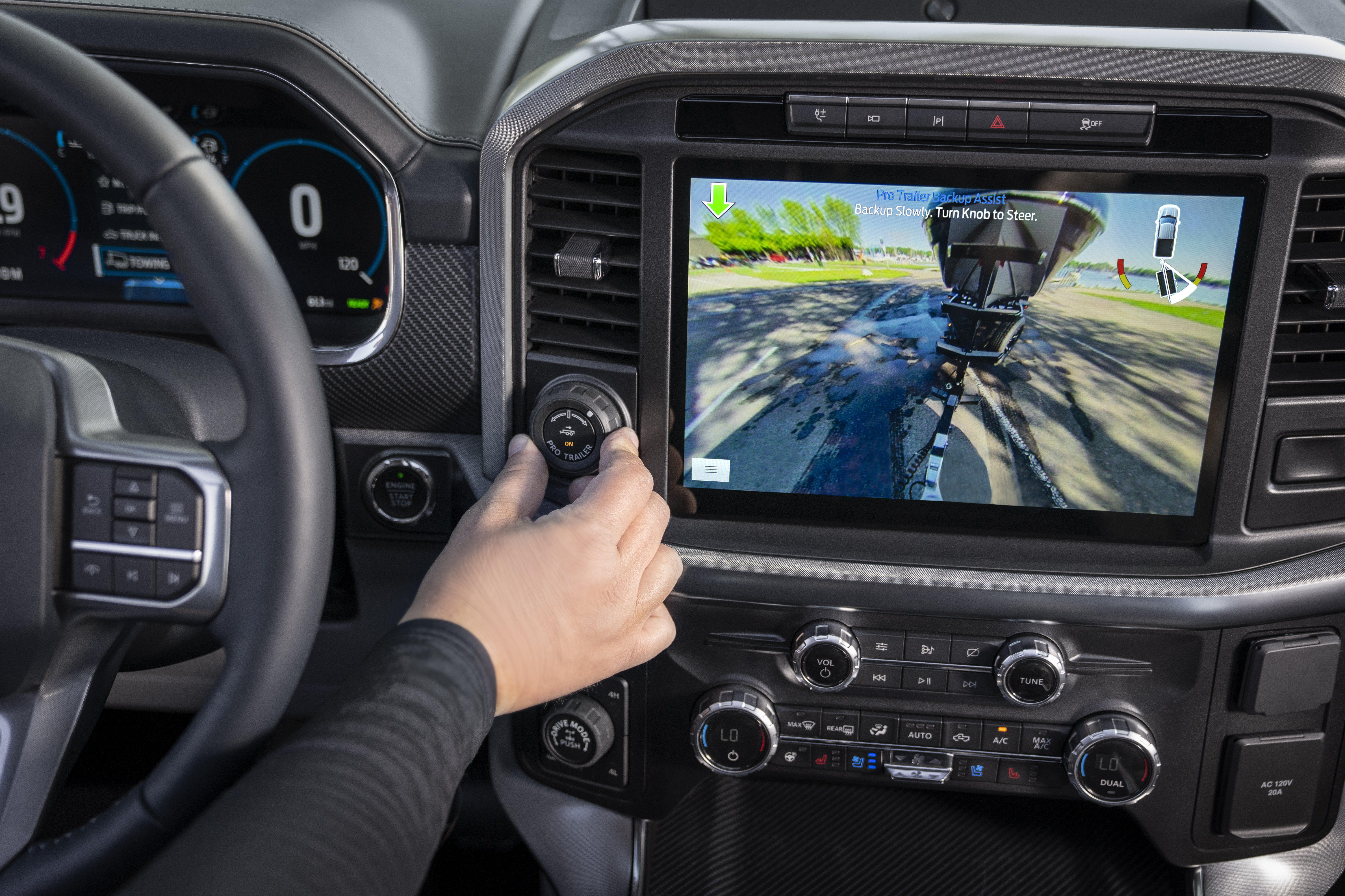 2021 Ford F-150 Trailer Guidance