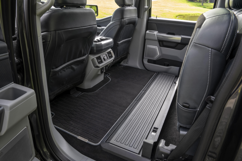 2021 Ford F-150 Interior Rear