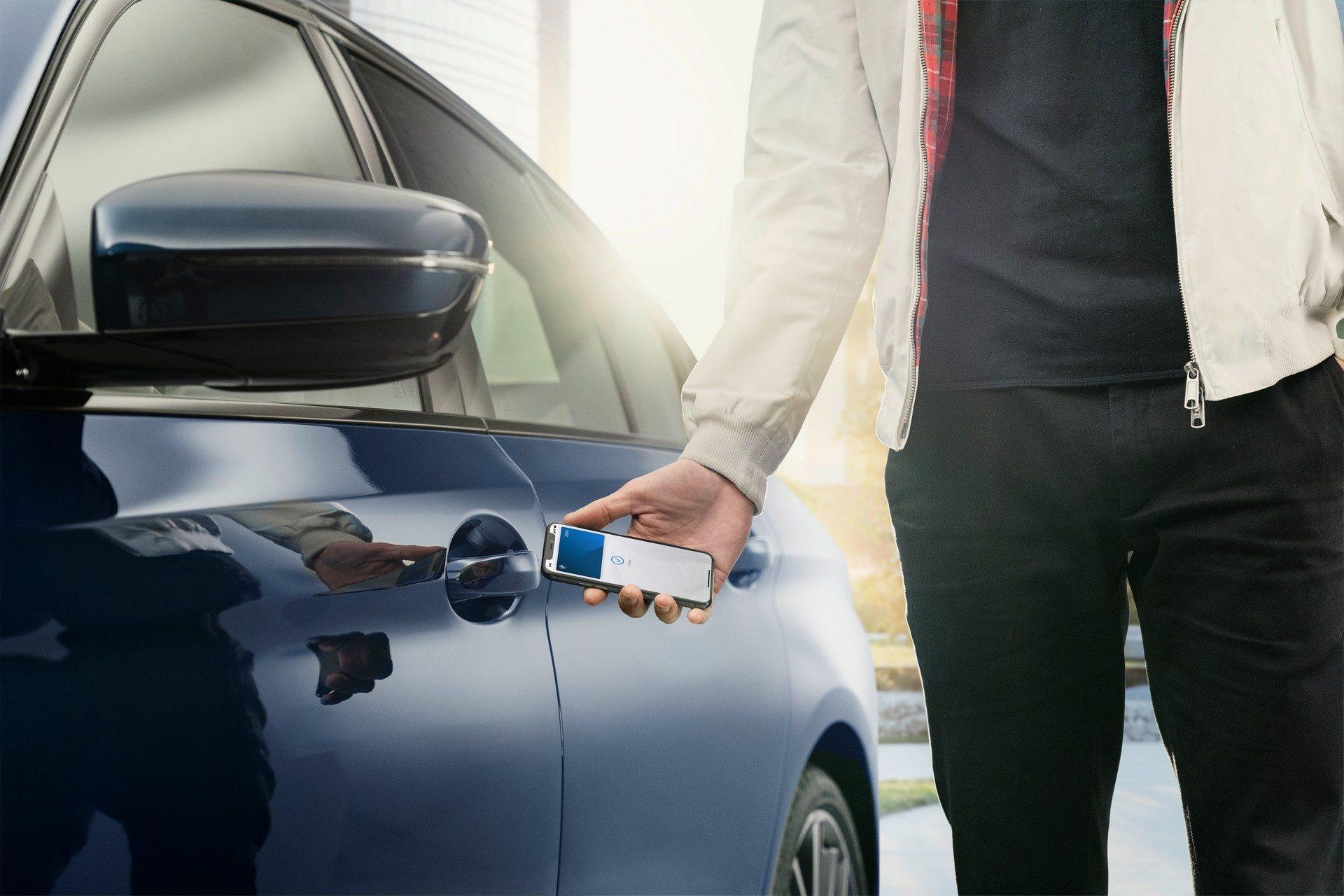 Apple Digital Key for BMW