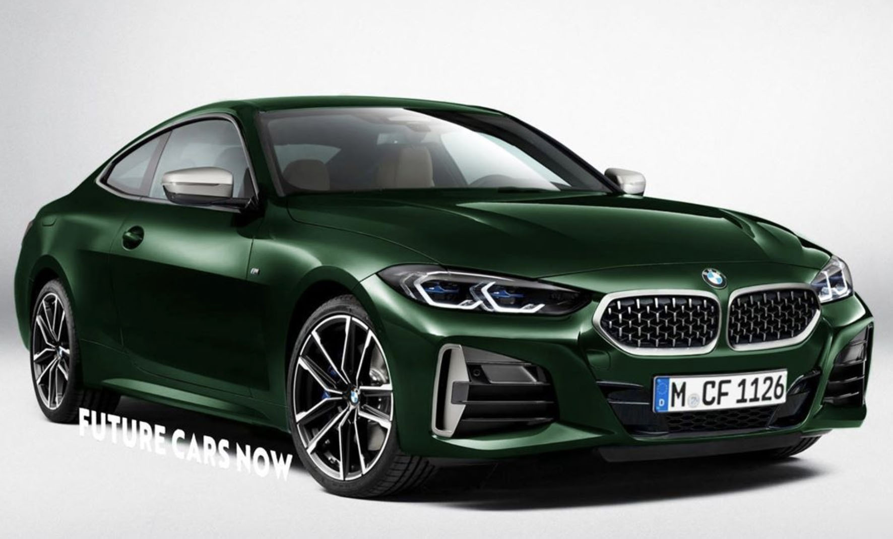 New 2021 BMW 4 Series Rendered With A Normal Grille ...