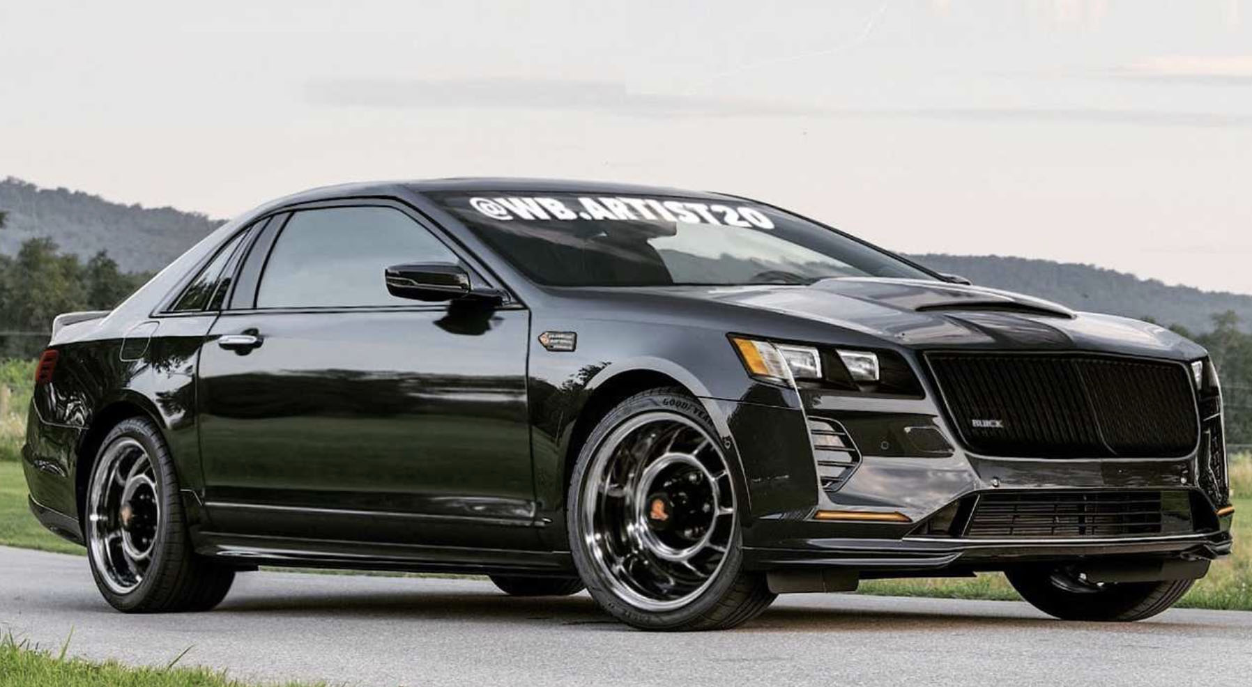 2020 Buick Grand National Gnx Spy Shoot