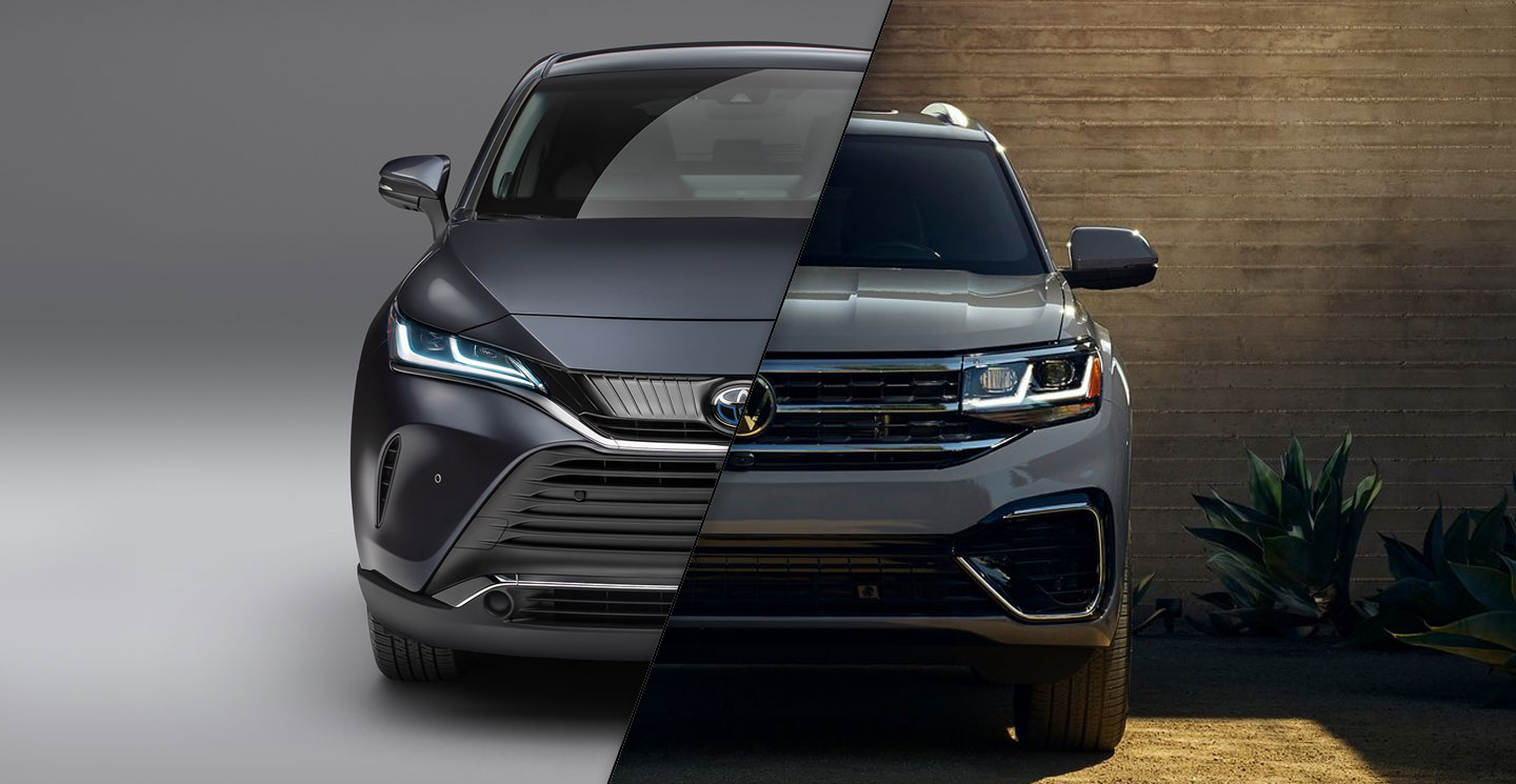 2021 Toyota Venza vs 2021 Volkswagen Atlas Cross Sport