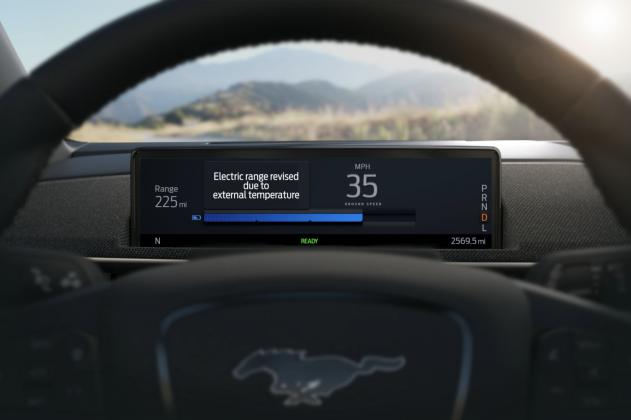 Ford Mustang Mach-E Intelligent Range