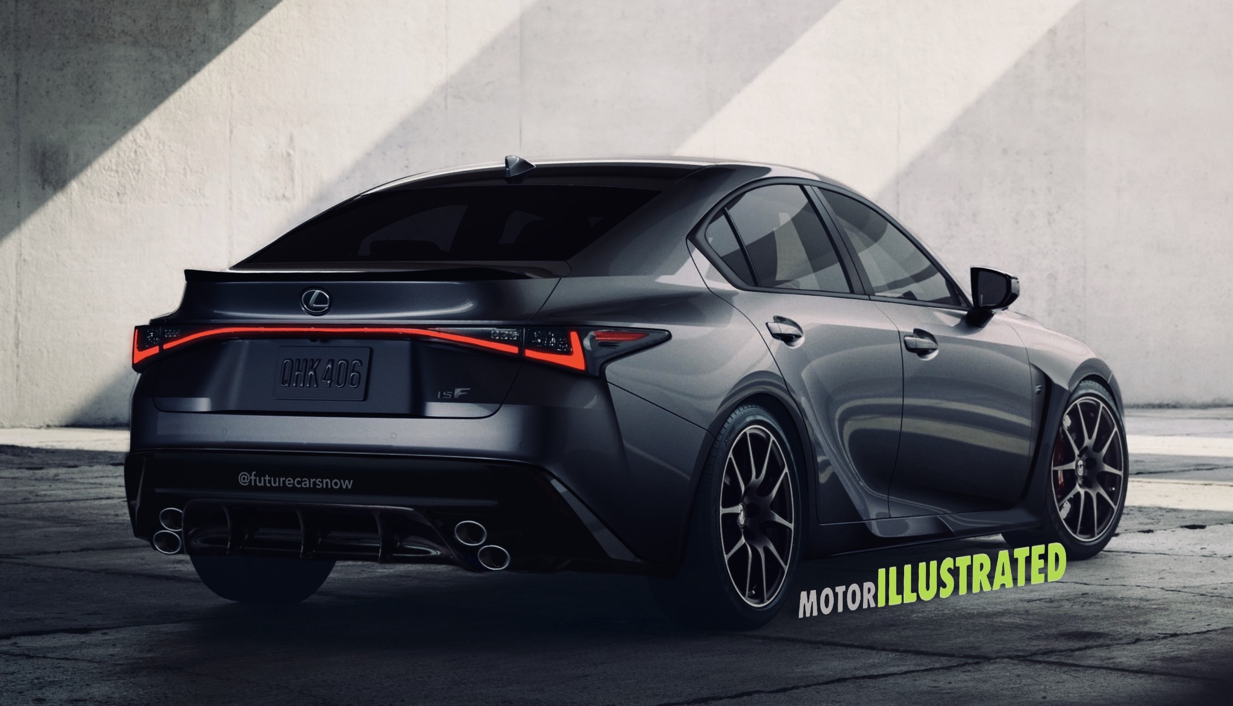 2021 Lexus IS F rendering
