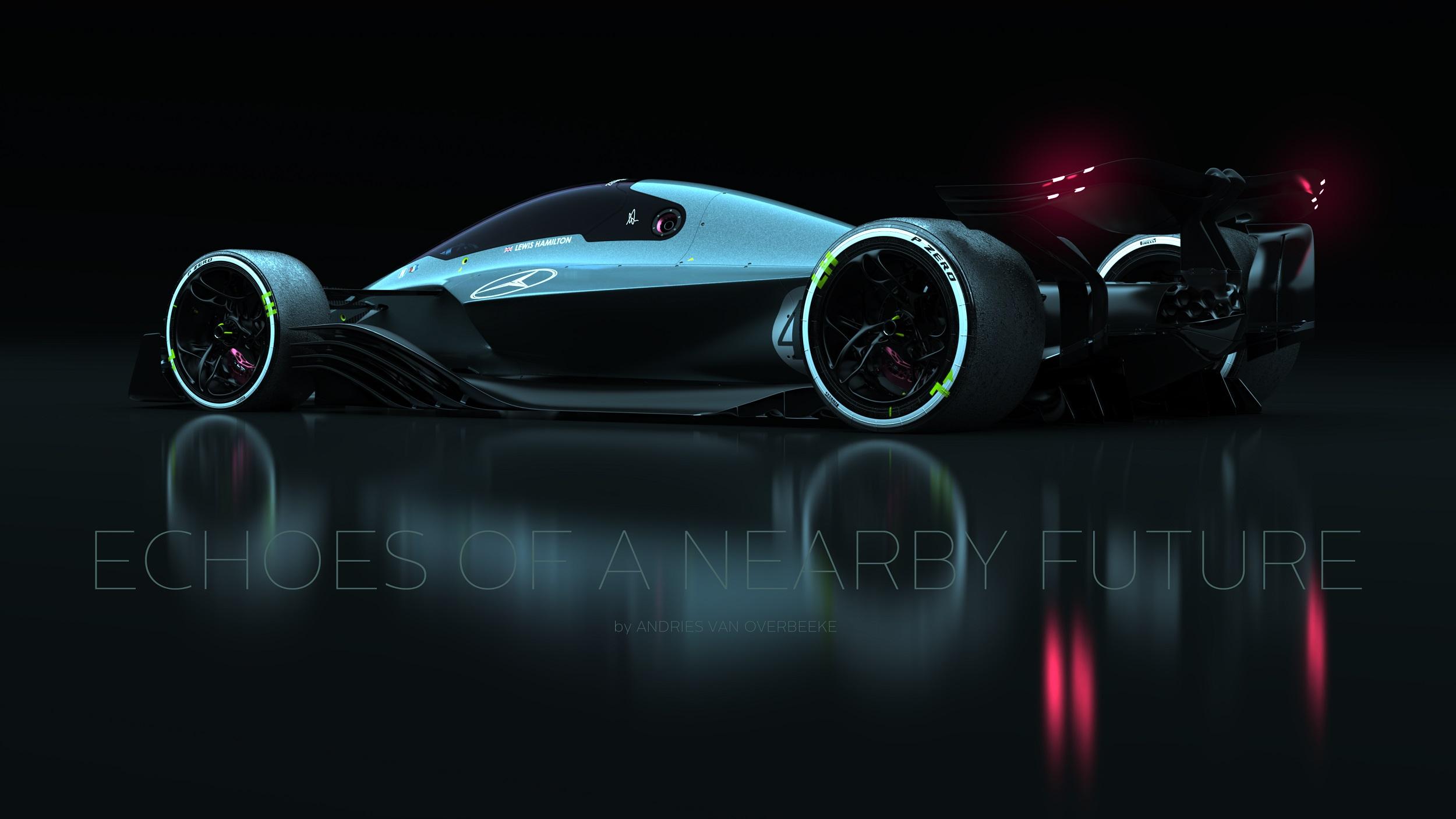 Mercedes-AMG Petronas F1 Rendering