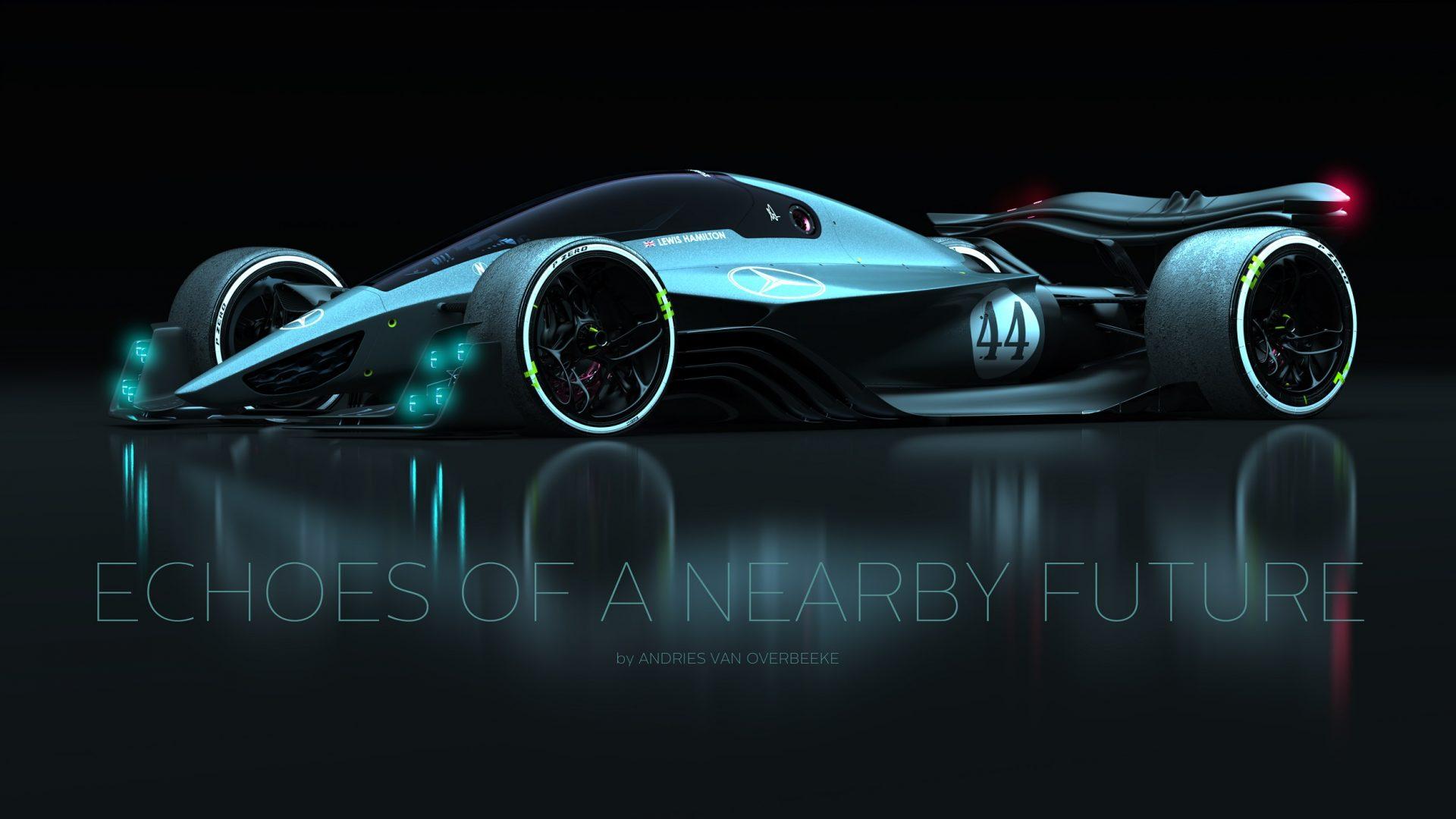 Mercedes-AMG F1 rendering