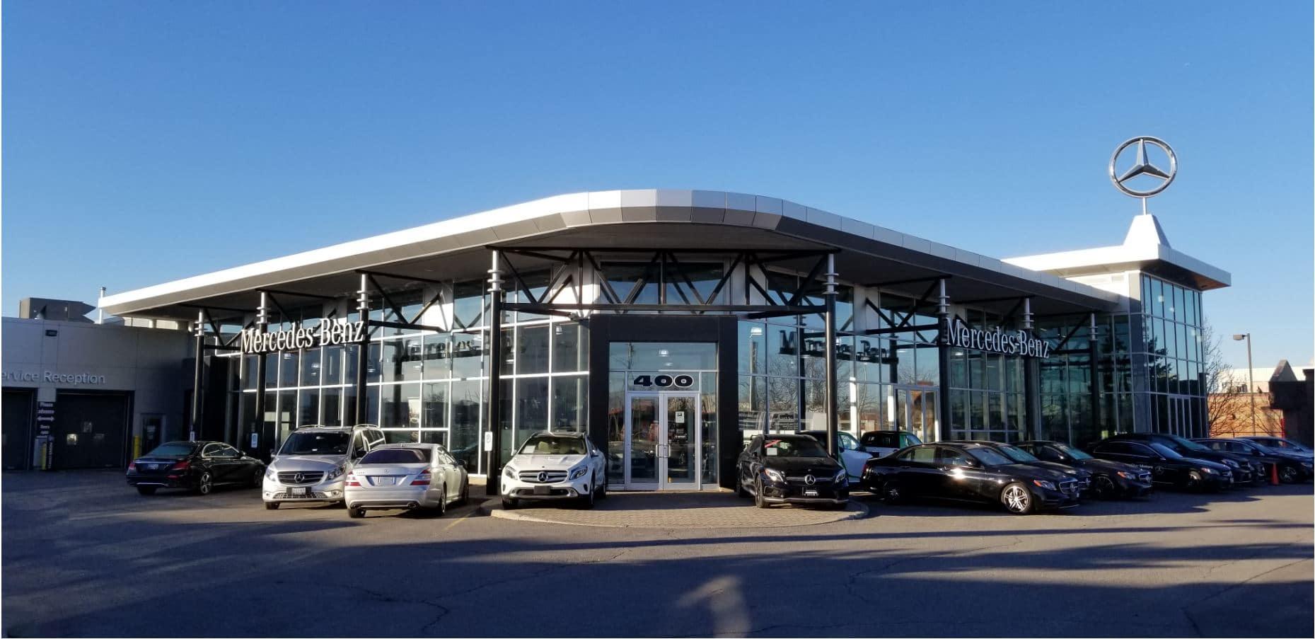 Mercedes-Benz dealerships