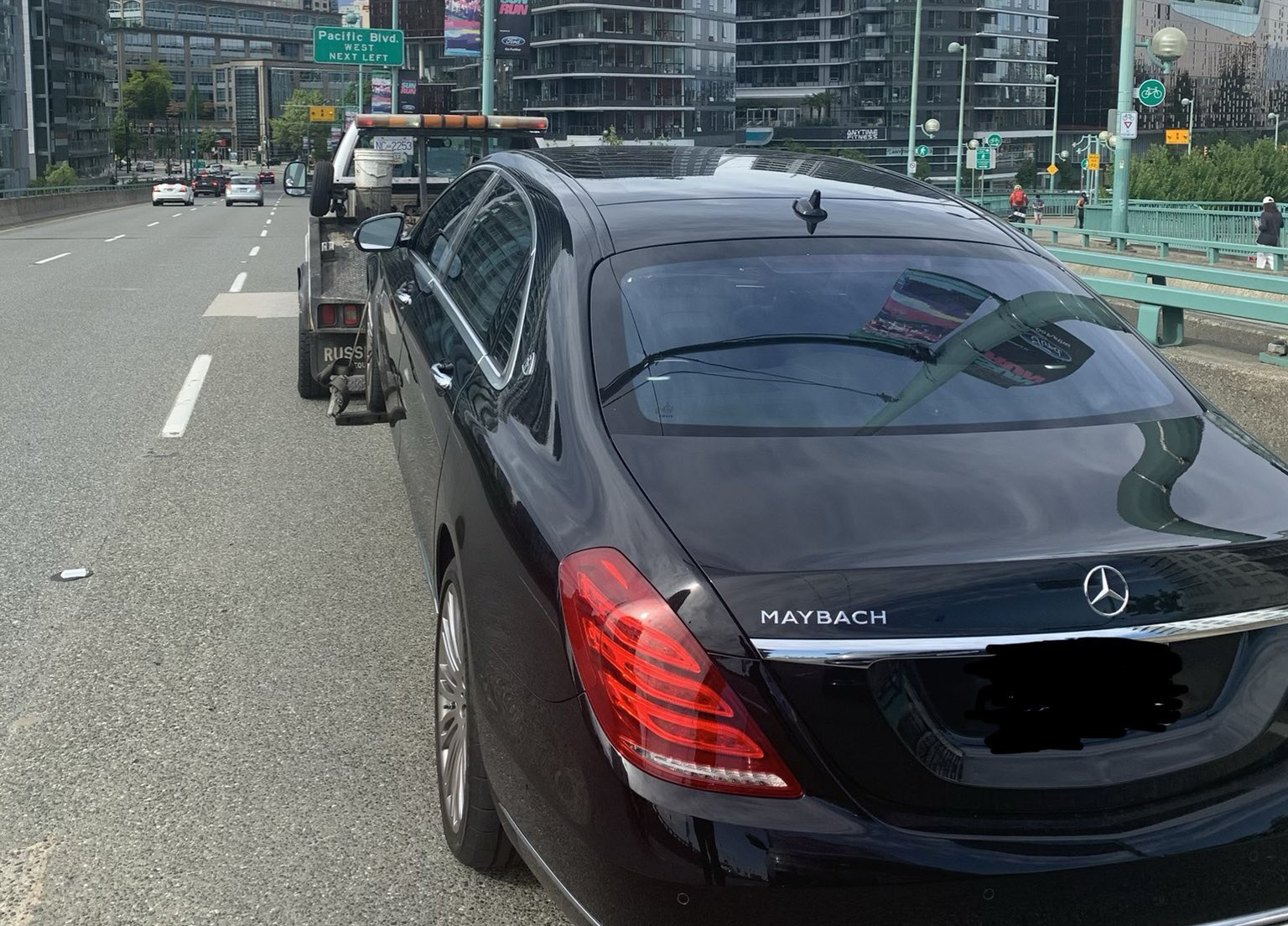 Mercedes-Maybach driver arrested