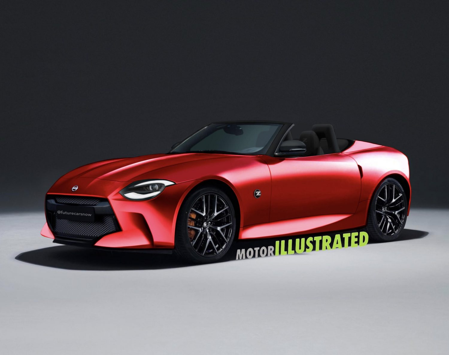 5 Nissan 5Z Roadster Rendered: The Next Step - Motor Illustrated