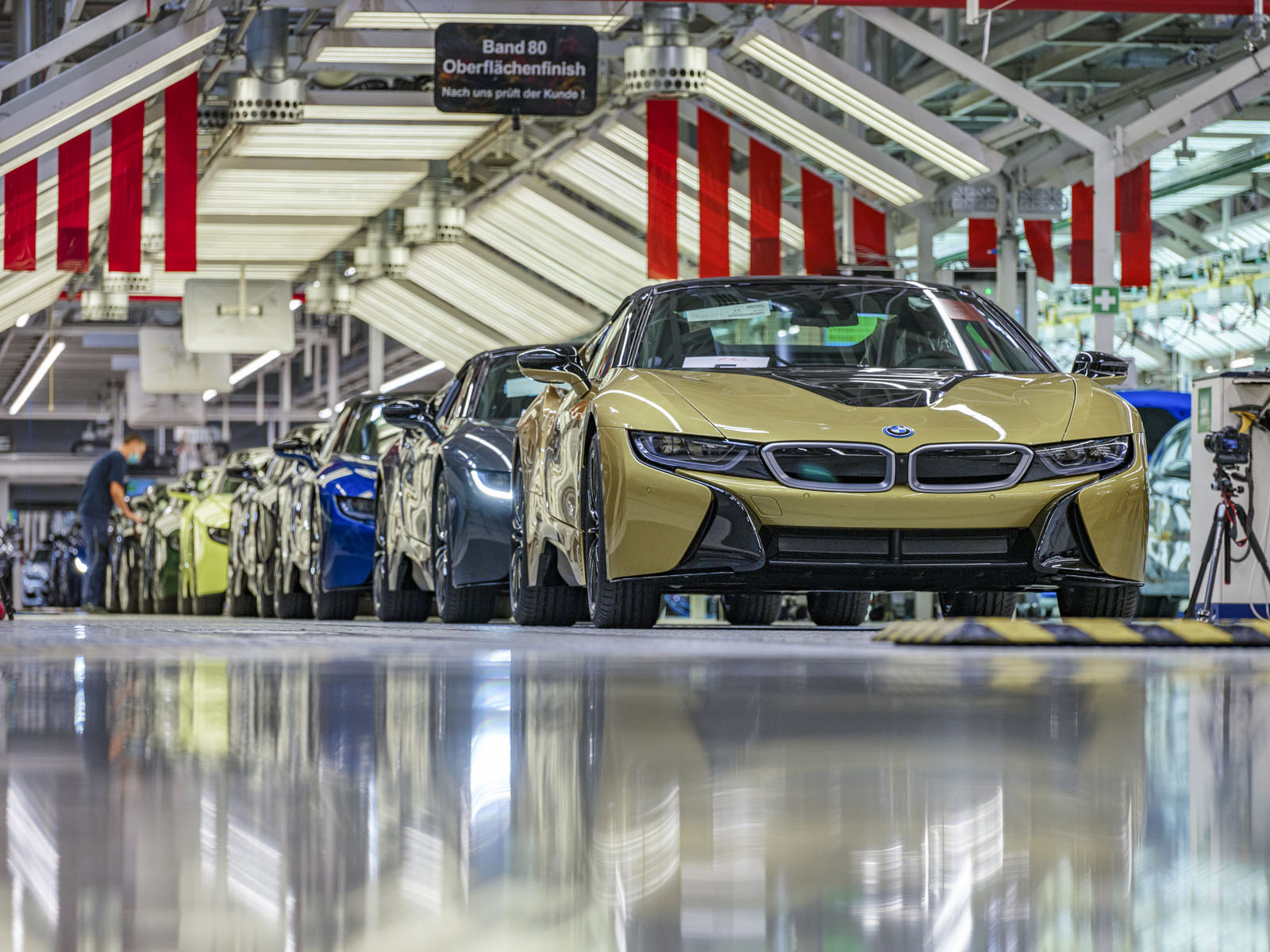 BMW i8 final production run