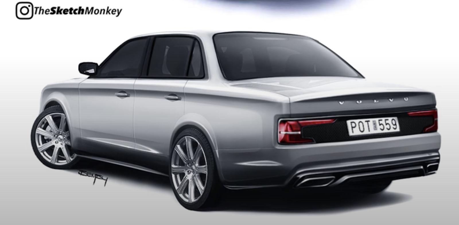 Volvo 240 rendering