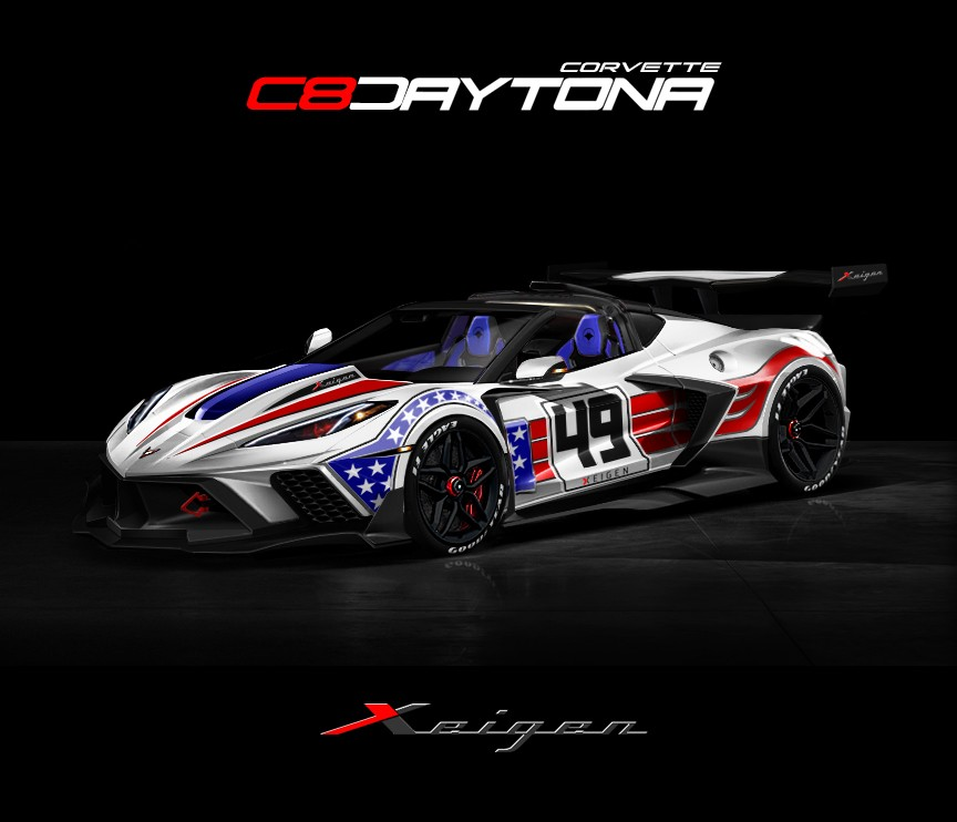 Xeigen Corvette C8 body kit