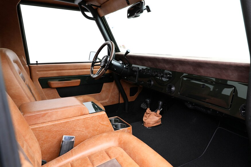 1976 Ford Bronco Interior