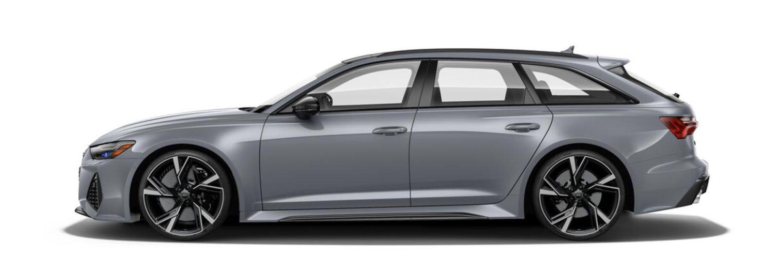 2021 Audi RS 6 Avant Nardo Gray