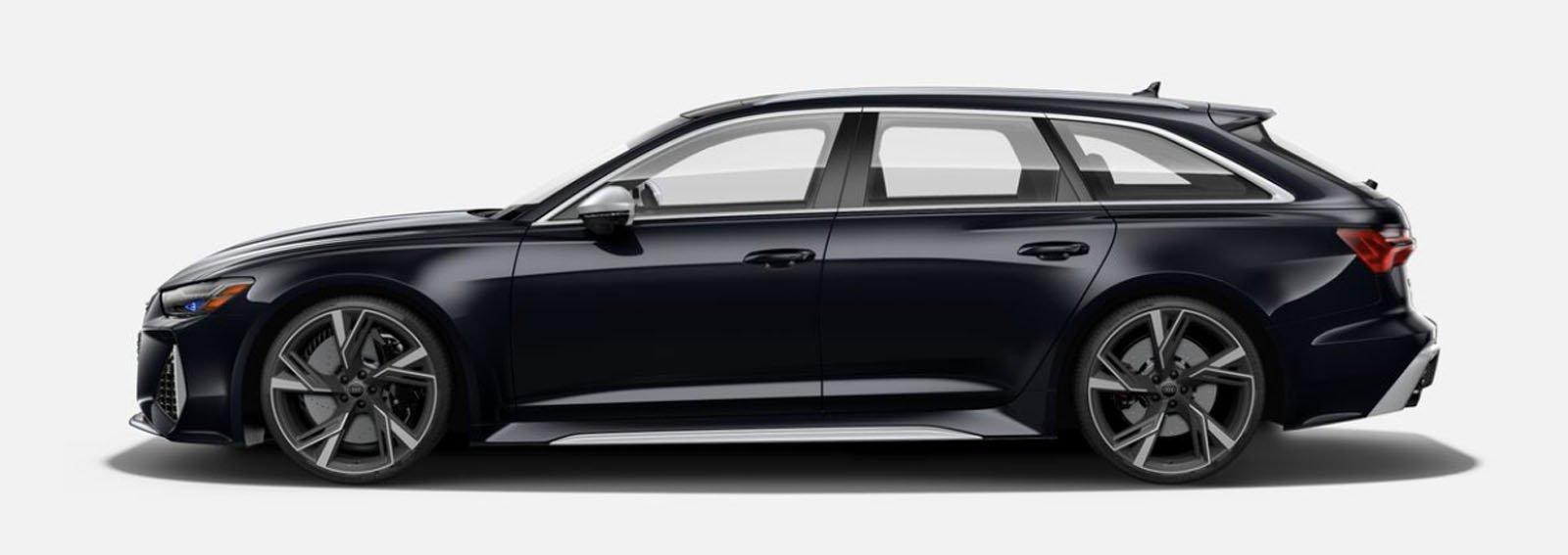 2021 Audi RS 6 Avant Sebring Black