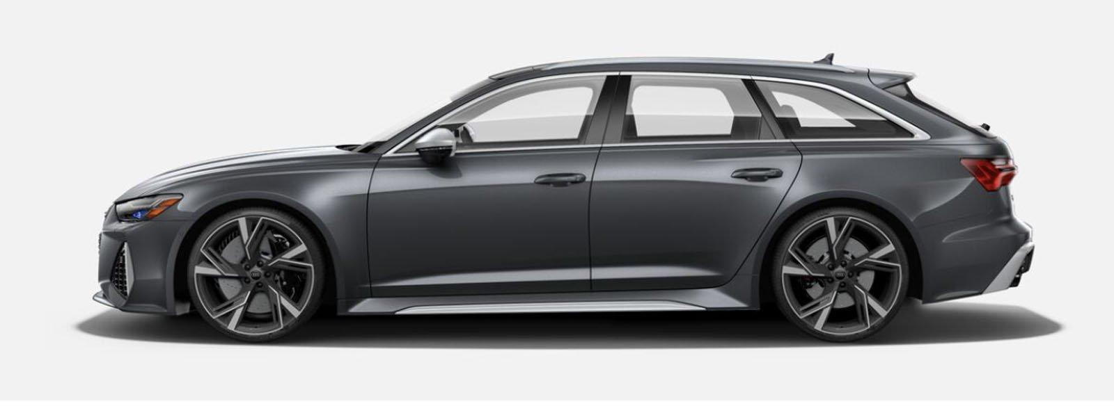 2021 Audi RS 6 Avant Daytona Gray