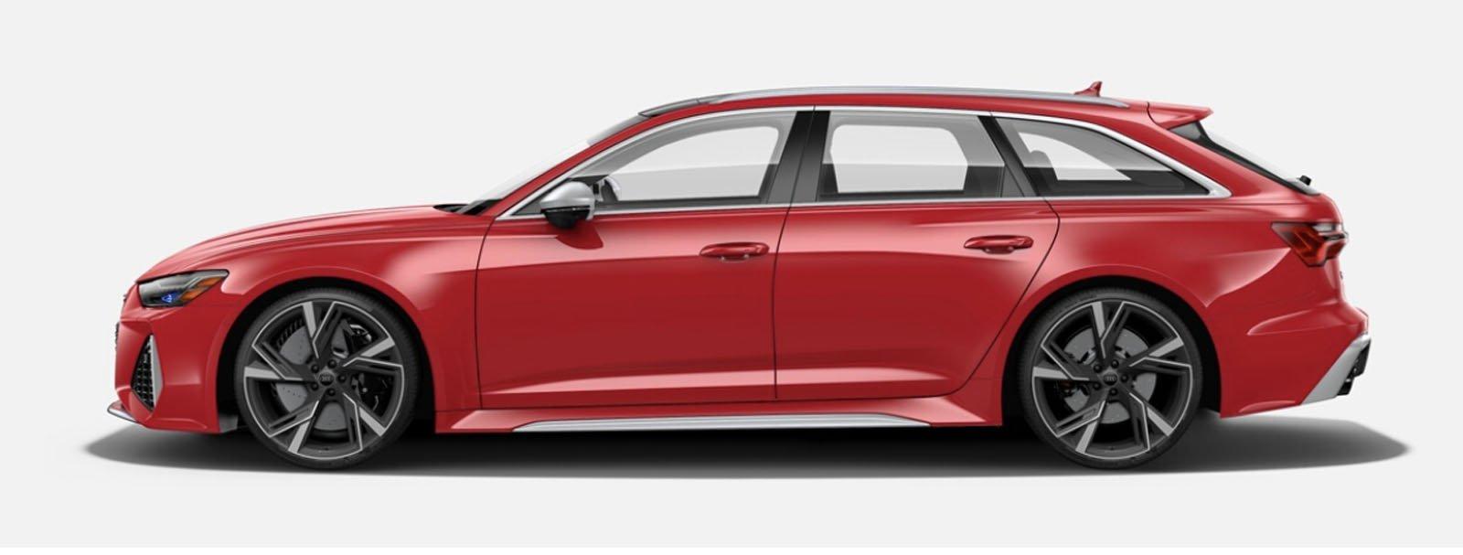 2021 Audi RS 6 Avant Tango Red
