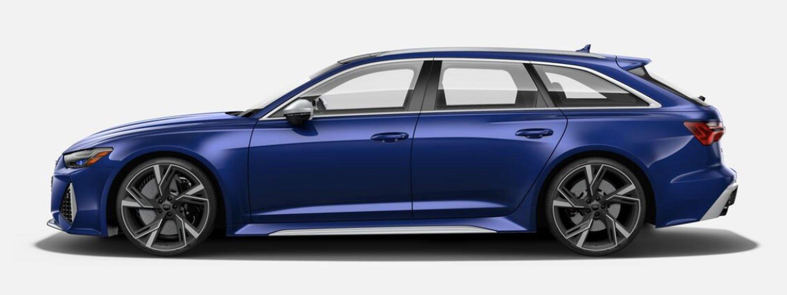 2021 Audi RS 6 Avant Navarra Blue