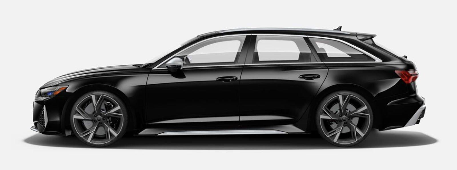 2021 Audi RS 6 Avant Myth Black