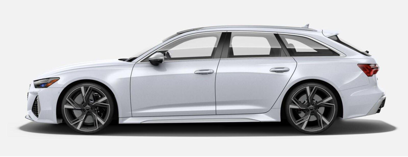 2021 Audi RS 6 Avant Glacier White