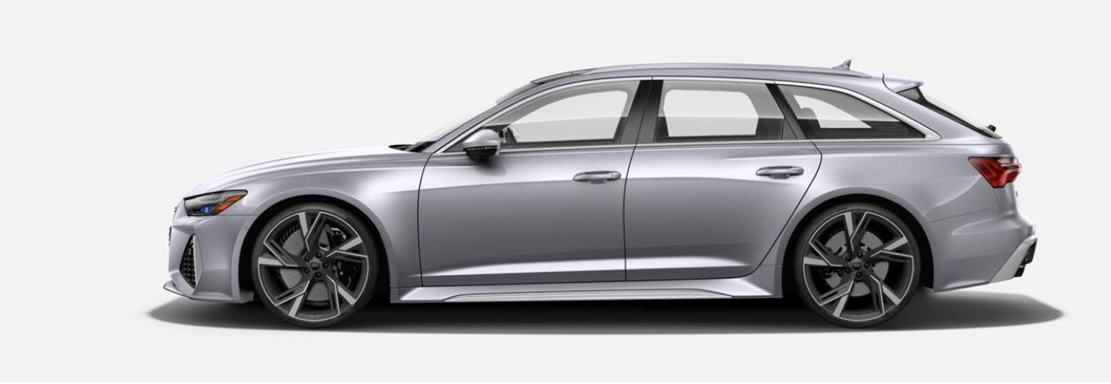2021 Audi RS 6 Avant Floret Silver